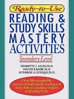 Ready-to-Use Reading and Study Skills Mastery Activities: Secondary Level by Henriette L. Allen, M.Therese A. Levesque, Walter B. Barbe (Paperback, 1996)