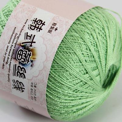 Sale Cotton Crochet Yarn No.8 Craft Tatting Hand Knit Embroidery 50grX1Ball 14