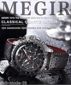Montre-Sport-Megir-Top-Marque-Bracelet-cuir-Homme-Fashion-Men-Watch-Promo
