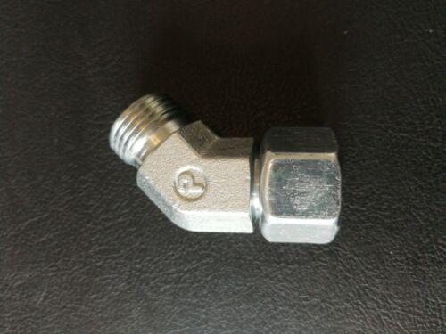 Hydraulikverschraubung Einstellbare 45°-Winkelverschraubung EV12-L-OMD CF