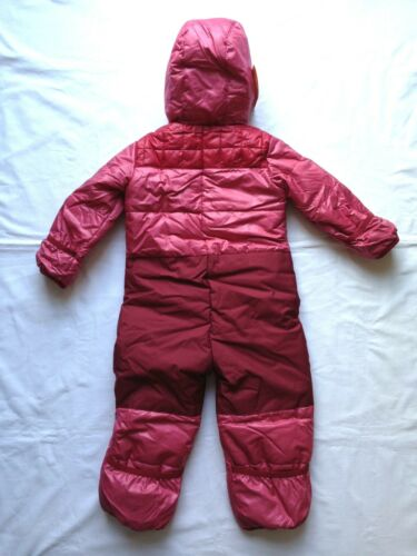 80 Baby rosa Schneeanzug Overall Handschuhe Füßlinge Quechua Forclaz600 Girl Gr