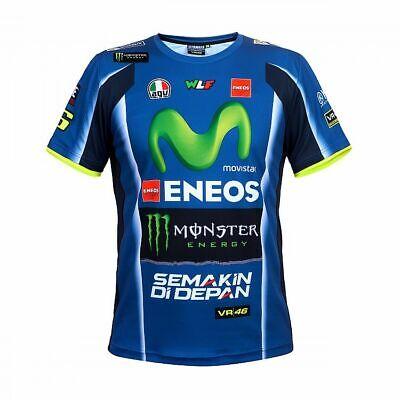 Mens Valentino ROSSI VR46 2018 Moto GP Short Sleeve YAMAHA Polo shirt