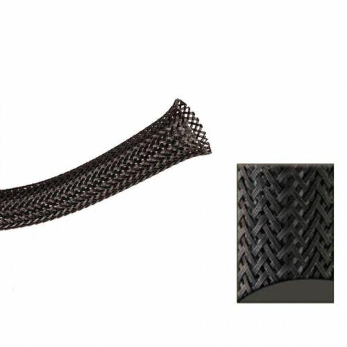 "1//2/"" Black Ultra Wrap Wire Loom 10 Feet KICWFABK0500L010 hot rod"