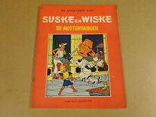 STRIP HERDRUK UIT 1962 ONGEKLEURDE REEKS/ SUSKE EN WISKE N° 31 - DE MOTTENVANGER