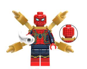 Man Infinity War Legoe Avengers Super Iron Heroes Spider Building Blocks 2018