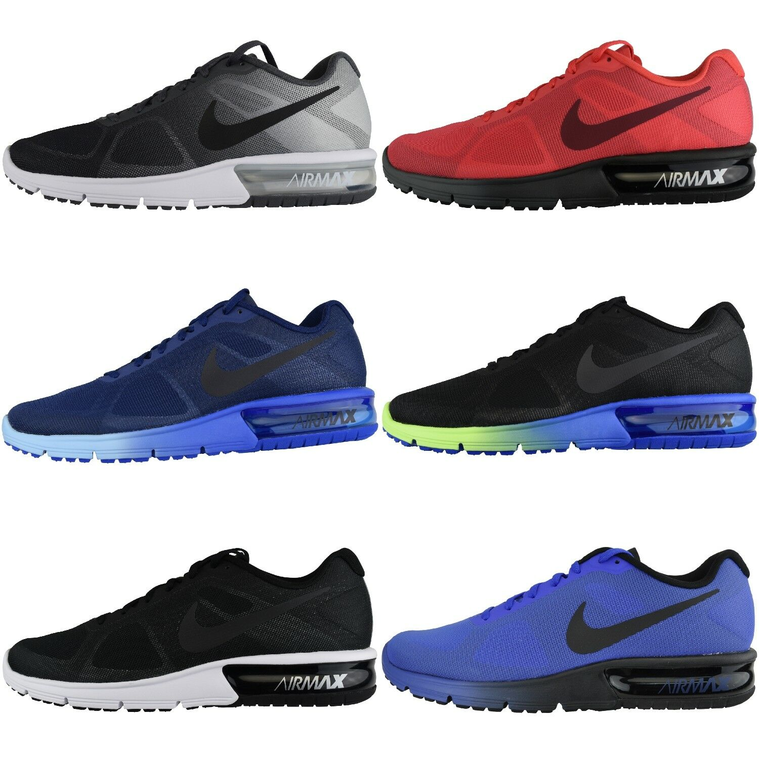 Nike Air Max Sequent Trainers Athletic shoes Running shoes Trainers Textile