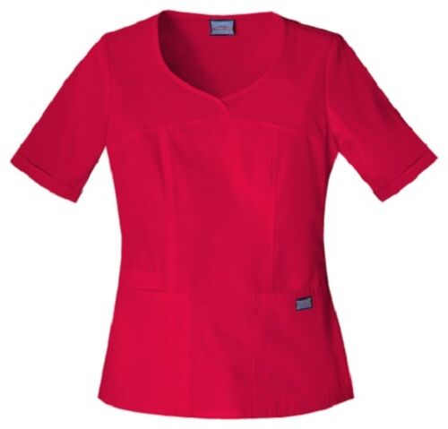 Cherokee Workwear Scrubs Women/'s V Neck Scrub Top 4746 Red REDW Cherokee