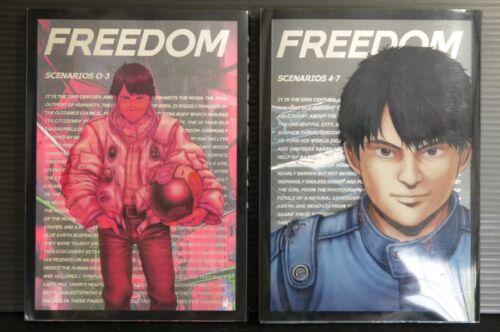 JAPAN Freedom Scenarios vol.1+2 Complete set