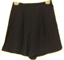Jaclyn Smith ladies loose shorts skirt size medium blue 65 pct rayon 126