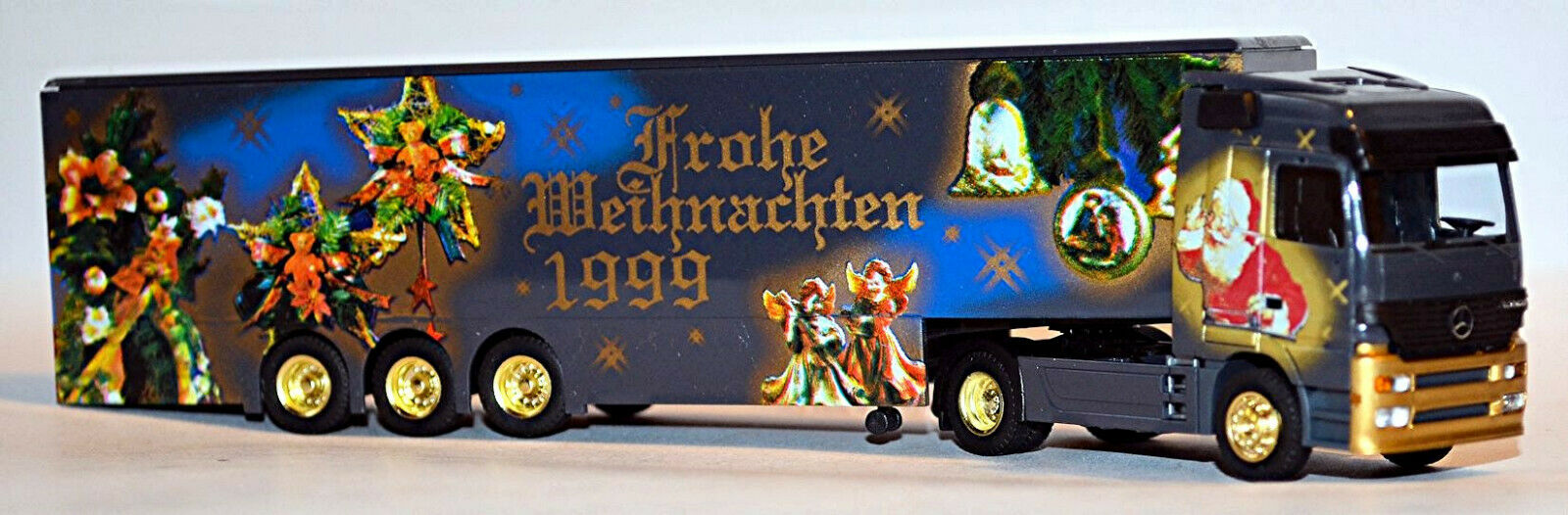 Mercedes Actros LH Koffersz Merry Christmas 1999 1 87 Albedo 250022