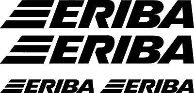 HYMER ERIBA 4 PIECE KIT CAMPERVAN MOTORHOME CARAVAN DECAL CHOICE OF COLOURS #012
