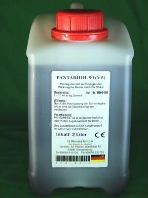 Abbindeverzögerer Einfach Zu Reparieren 6,80 Eur/l 2 Liter Pantarhol 90 Für Beton