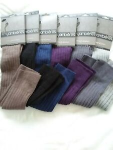 Jambieres-chaussettes-hautes-dessus-genou-femme-36-40-Twinday-cotelees