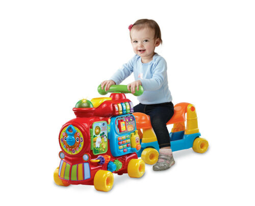 VTech® Sit-to-Stand Ultimate Alphabet Train Walker Learning Toys Fun Infant New