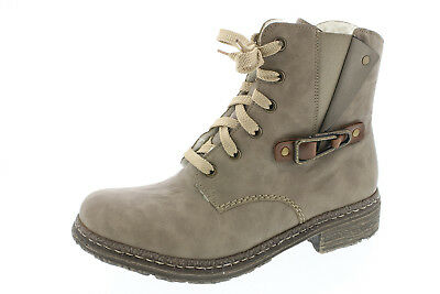 Rieker Women's Boots L5523 Ankle Boots Lace up Boots Boots Braun Rv New   eBay