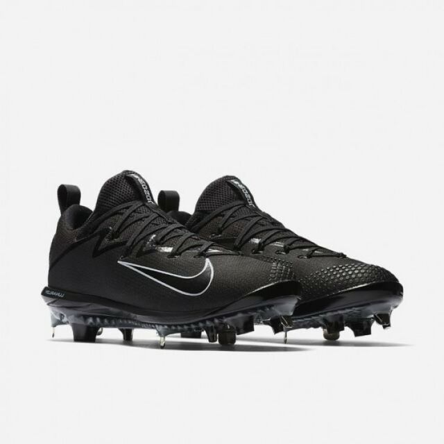 online retailer 089bd c8302 New Nike Lunar Vapor Ultrafly Elite Metal Baseball Cleats Black 852686 Size  13