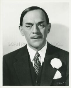 Boris Karloff Mr Wong Detective 1938 Vintage Foto R1980