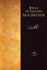 NEW Biblia de Estudio MacArthur-Rvr 1960 by John Jr. MacArthur Hardcover Book (S
