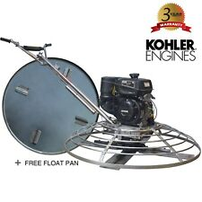 Power Trowel 9hp Kohler 46 Float Pan Screed Edge Cement Concrete Finishing Tool