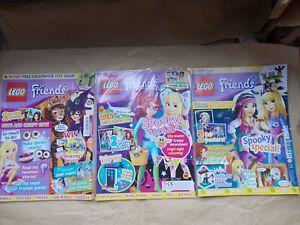 NEW LEGO FRIENDS HALLOWEEN MAGAZINE *NO LEGO* COMICS POSTERS MAKES PICK 1 U WANT