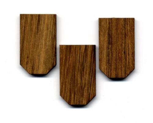 500er-Pack Holzschindel Holzschindeln Teak Teaksperrholz