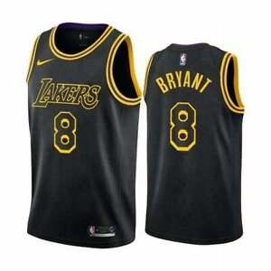 Details about Kobe Bryant 'Mamba City' LA Lakers City Ed. Day YOUTH Swingman Jersey Small