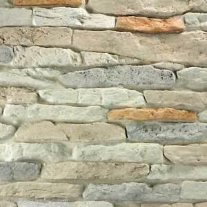 Pannello rivestimento in pietra ricostruita mod cortina 0 85 mq interno esterno ebay - Rivestimento finta pietra interno ...