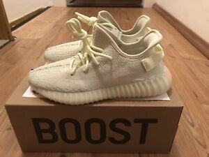Yeezy Us9 Boost 5 3 Nouveau Uk8 F36980 2 Adidas V2 Original 100 42 Butter 350 4dzwn5qv