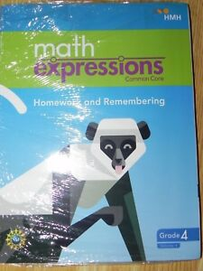 Hmh Math Expressions Ccss 4th Grade Homework Remembering