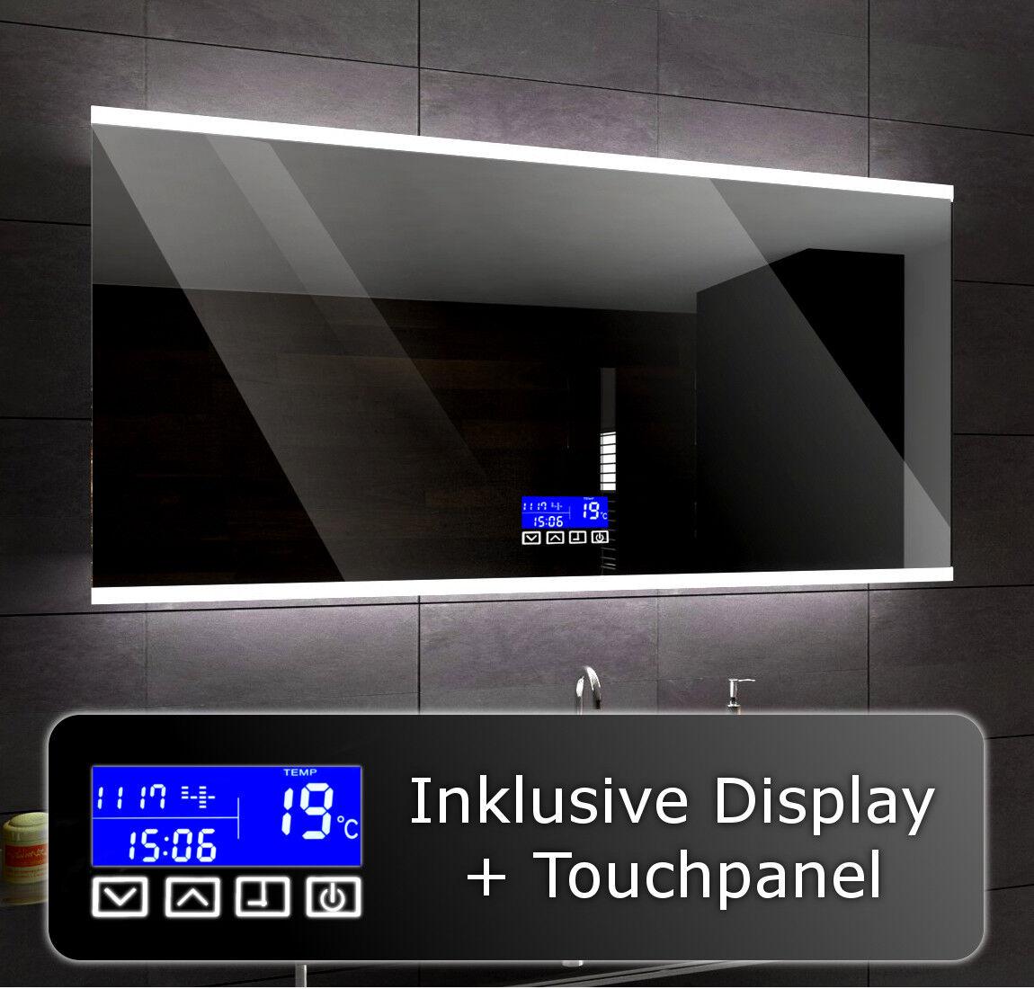 BRASIL Badspiegel LED Beleuchtung Wandspiegel Badezimmerspiegel nach Maß CP A07
