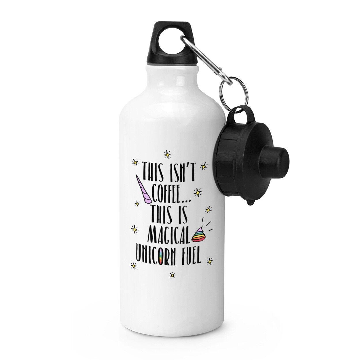 Ce n'est pas café c'est Licorne carburant Sports boissons bouteille bouteille bouteille d'eau 8fddad