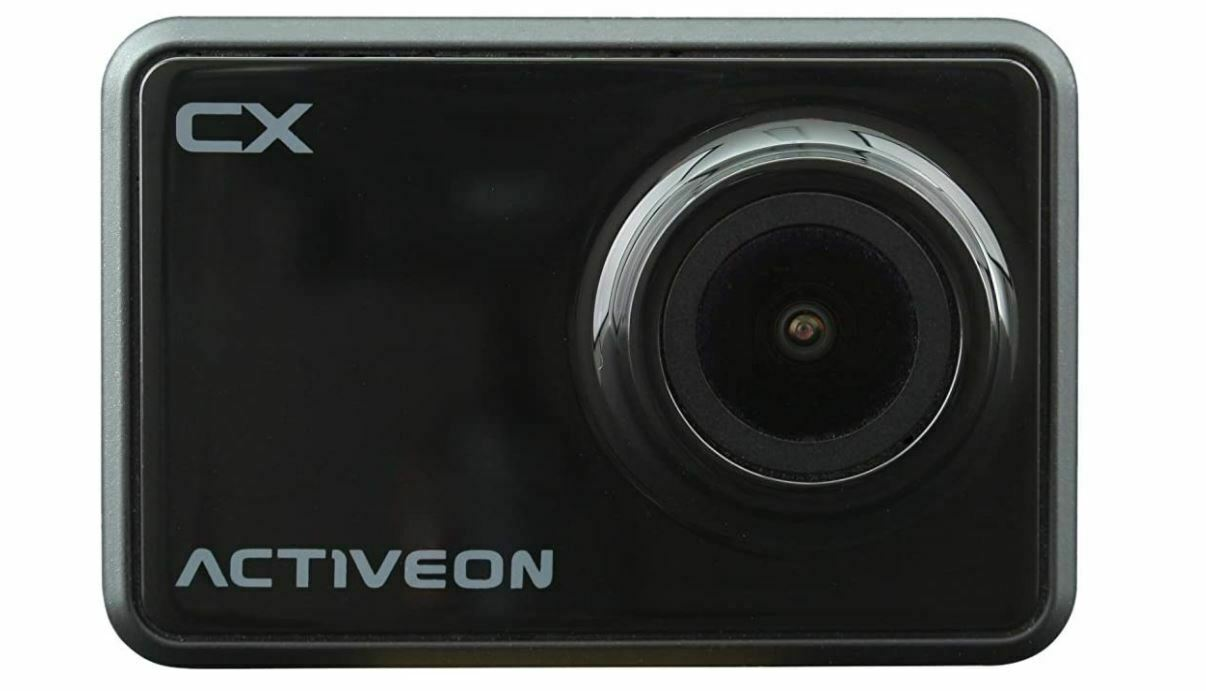 Brand New Activeon CX Action Camera (Onyx Black)1 year warranty action activeon brand camera new warranty year