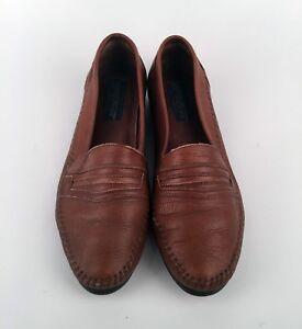 Dettagli su Giorgio Brutini Le Glove 10 D Mens Leather Brown Shoes