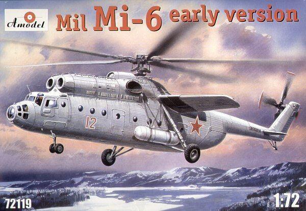 AMODEL 1/72 MIL MI-6 PRIMA VERSIONE  72119