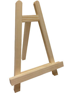 Image Is Loading Small 10 034 Tabletop Wood Easel Mini Tripod