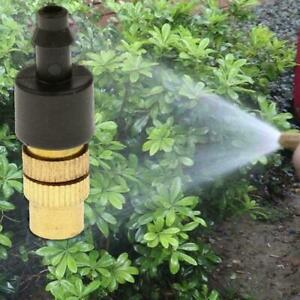 Brass Spray Misting Nozzle Garden Sprinklers Irrigation Fitting Access