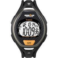 Timex T5k335 Ironman Triathalon 50 Lap Men's Mens Digital Watch Black/orange