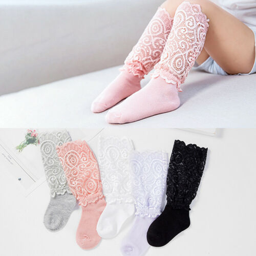 Lace Knee Socks Girls Princess Style Summer Socks Dresses Clothing Accessories