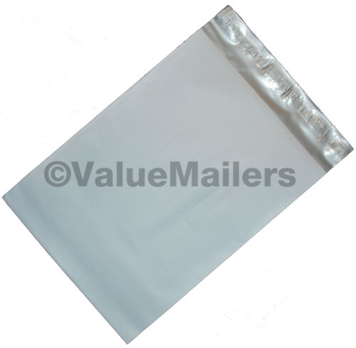100 Poly Mailers Envelopes 12X15.5 Self Seal Plastic Bags Matte Finish 2.7 Mil