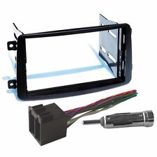 Aftermarket Double Din Dash Radio Stereo Installation Kit Wire Harness Adapter