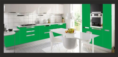 3,28€//m² apple green glänzend in 61cm breite Möbelfolie 6 bis 11 Meter