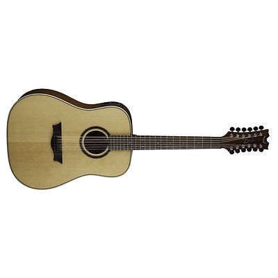 Efficient Dean Natural Dreadnought 12 String Gloss Natural Gn Acoustic/electric Aromatic Character And Agreeable Taste Gig Bag