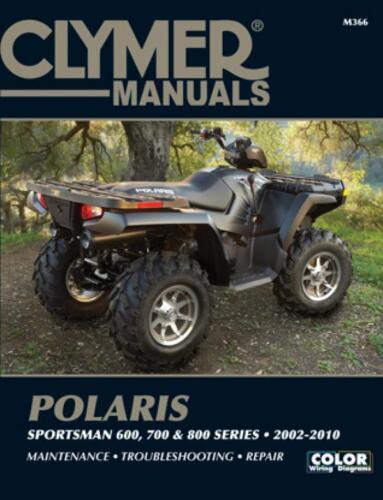 700 800 Clymer M366 Service /& Repair Manual for Polaris Sportsman 600