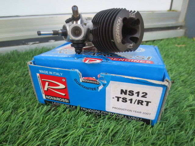 Novarossi Ns12 Ts1/RT 1/10th onroad Race Engine Roto Start OZ RC Models