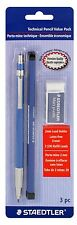 Staedtler Technical Mechanical Pencil Value Pack - Pencil, Eraser, Leads