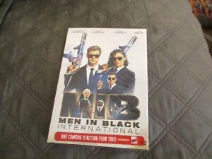 "DVD NEUF ""MEN IN BLACK INTERNATIONAL"" Chris HEMSWORTH Liam NEESON Emma THOMPSON"