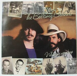 BELLAMY-BROTHERS-LP-33-Tours-WHEN-WERE-WE-BOYS