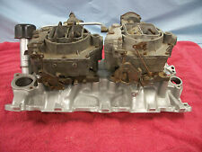1956 Corvette 2x4 Intake With Carbs