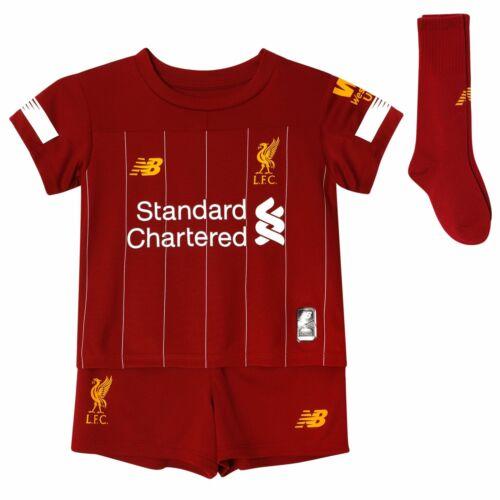 Oficial Liverpool FC Football Club Hogar Rojo Infantil Kit 2019//2020