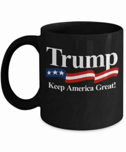 Donald Trump Keep America Great 2020 Campaign Coffee//Tea Mug//Cup 11OZ Black